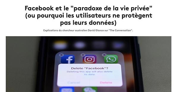 Une fois les photos ou vidéos publiées sur Facebook, elles y resteront pour toujours. Les informations personnelles seront à jamais stockées dans les serveurs du réseau social.