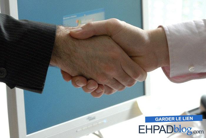 Le directeur d'ehpad gère les différents intervenants et prestataires de service au sein de son établissement
