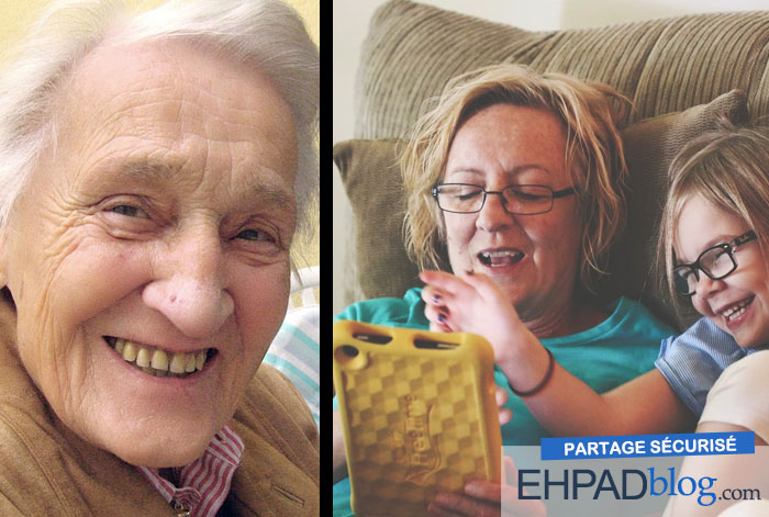 Blog pour résidence seniors : découvrez notre plateforme de partage photos vidéos privé