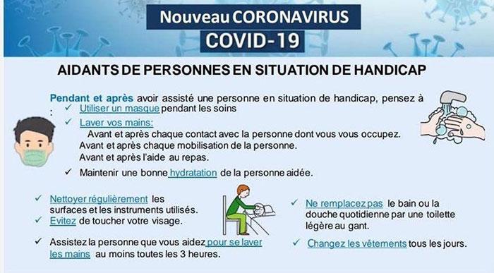 Mesures de prévention en EHPAD : Personnes ayant une situation de handicap
